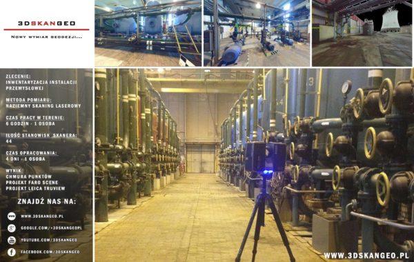 Inwentaryzacja instalacji przemysłowej