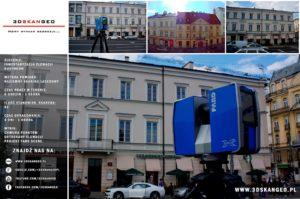 Skaning 3D na Nowym Świecie w Warszawie (1)
