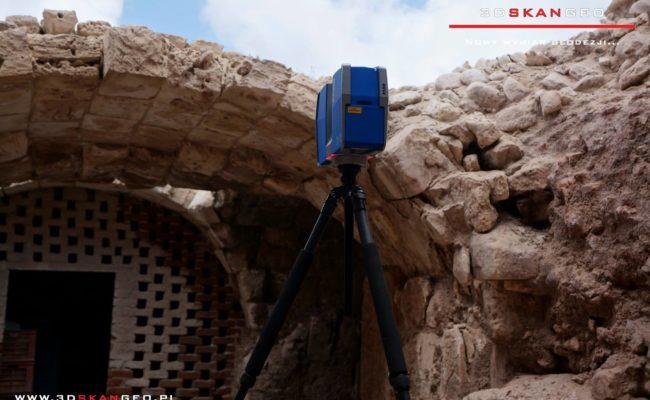Skanowanie laserowe 3D w Aleksandrii (3)
