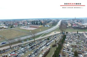 Aerofotografie i ortofotomapy cmentarza w Kałuszynie (1)