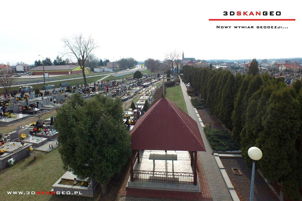 Aerofotografie i ortofotomapy cmentarza w Kałuszynie (2)