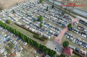 Aerofotografie i ortofotomapy cmentarza w Kałuszynie (3)