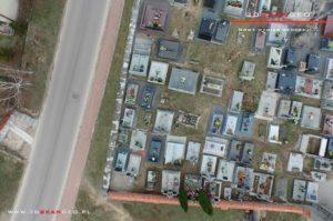 Aerofotografie i ortofotomapy cmentarza w Kałuszynie (4)