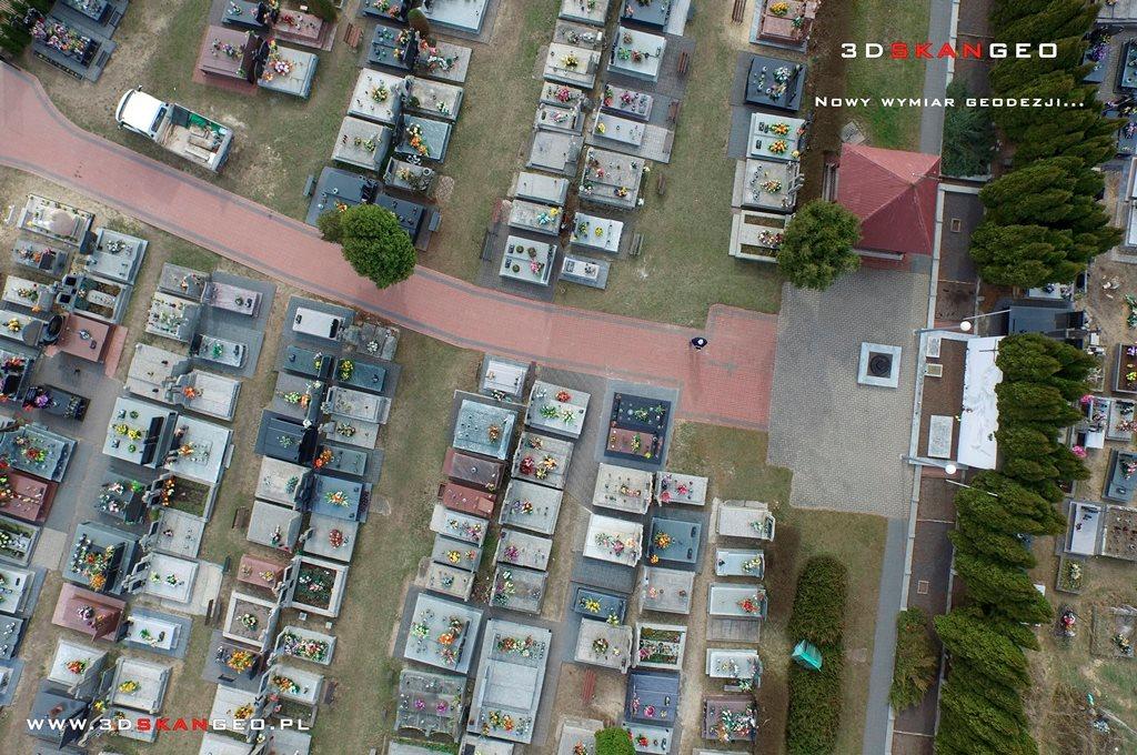 Aerofotografie i ortofotomapy cmentarza w Kałuszynie (5)