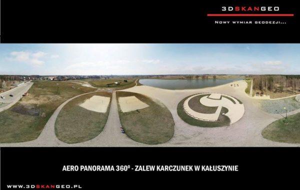 Aeropanorama 360 Zalewu Karczunek w Kałuszynie