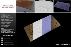 Inwentaryzacja fotogrametryczna płytek dekoracyjnych (2)