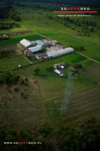 Inspekcja linii energetycznych w wykorzystaniem fotogrametrii lotniczej (1)