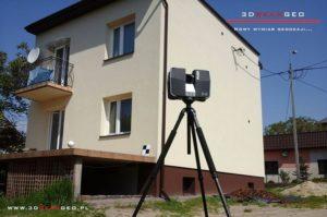 Skanowanie laserowe obiektów budowlanych w Rembertowie (3)