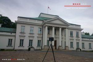 Inwentaryzacja architektoniczna Belwederu (1)