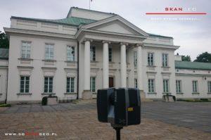 Inwentaryzacja architektoniczna Belwederu (2)