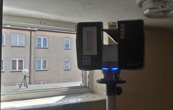Inwentaryzacja architektoniczna metodą skaningu laserowego 3D