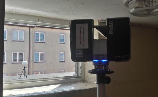 Inwentaryzacja architektoniczna metodą skaningu laserowego 3D (3)