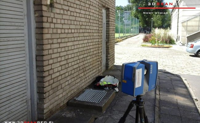 Skanowanie laserowe elewacji Pałacu Krasińskich w Warszawie (3)