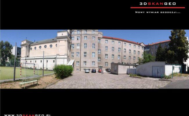Skanowanie laserowe elewacji Pałacu Krasińskich w Warszawie (5)
