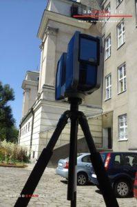 Skanowanie laserowe elewacji Pałacu Krasińskich w Warszawie (6)
