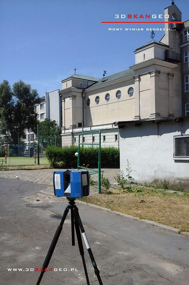 Skanowanie laserowe elewacji Pałacu Krasińskich w Warszawie (7)