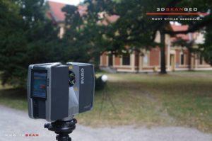 Skanowanie laserowe 3d terenów wokół Zamku w Łańcucie (1)