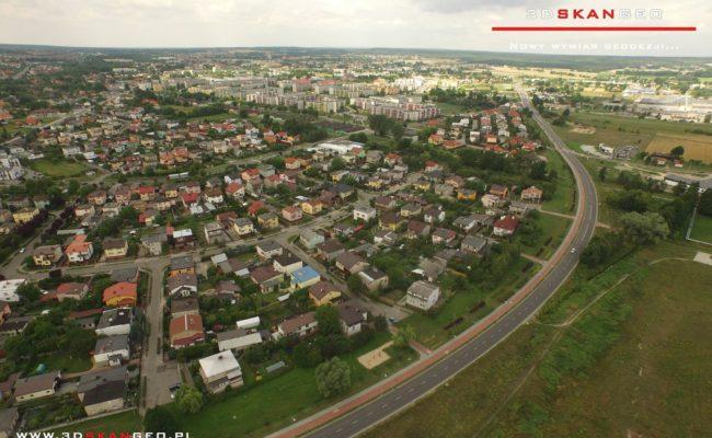 Panorama miasta Turek z drona (2)