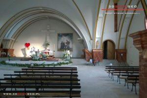 Skaning laserowy 3D wnętrza Kościoła (1)