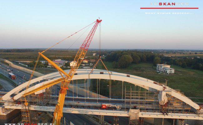 Budowa wiaduktu kolejowego S8 k. Mszczonowa. – aerofotografia (4)