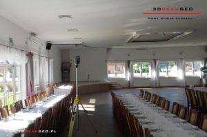 Inwentaryzacja architektoniczna sali weselnej (1)