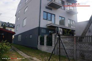 Inwentaryzacja architektoniczna budynku w Mińsku Mazowieckim (2)