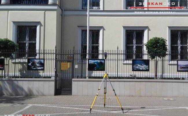 Skanowanie  3D Ambasady Norwegii w Warszawie (3)