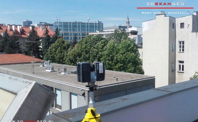 Skanowanie  3D Ambasady Norwegii w Warszawie (1)