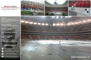 Skanowanie 3D na Stadionie Narodowym (1)