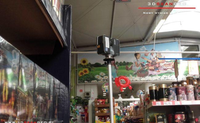 Inwentaryzacja sklepu- skaning laserowy 3D (2)
