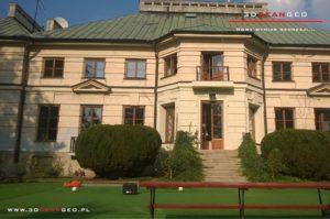 Inwentaryzacja zabytkowego pałacu - skaning 3D (3)