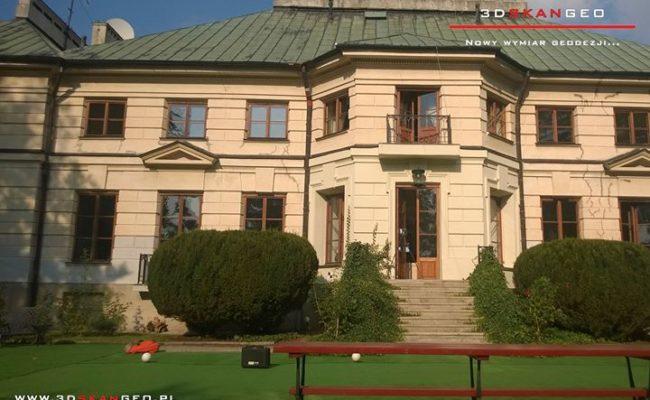 Inwentaryzacja zabytkowego pałacu – skaning 3D (3)