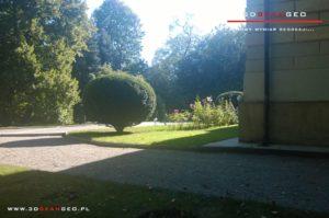 Inwentaryzacja zabytkowego pałacu - skaning 3D (2)