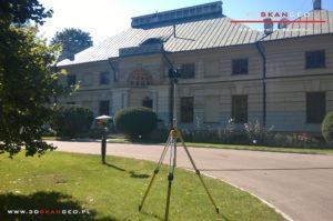 Inwentaryzacja zabytkowego pałacu - skaning 3D (1)