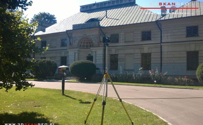 Inwentaryzacja zabytkowego pałacu – skaning 3D (1)
