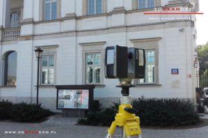 Skaning laserowy obiektu zabytkowego w Warszawie (4)