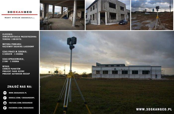 Inwentaryzacja przestrzenna terenu i obiektu