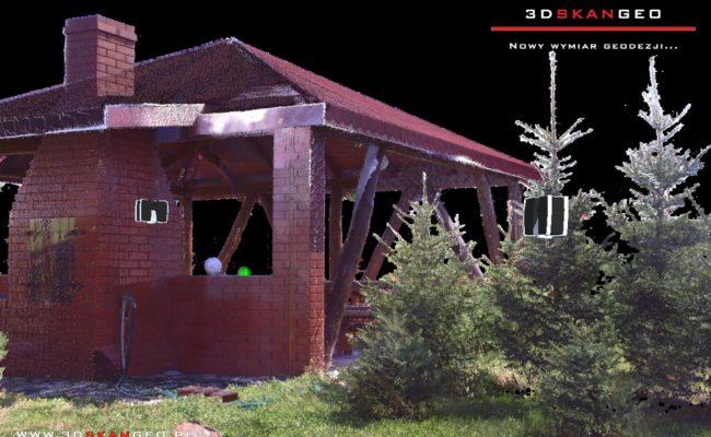 Skanowanie laserowe 3D altany (1)