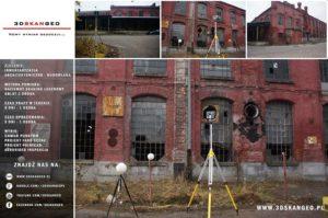 Inwentaryzacja architektoniczna fabryki przy ul. Piotrkowskiej w Łodzi (2)