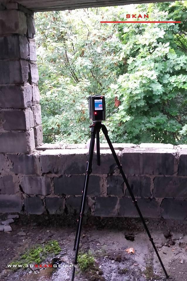 Skanowanie laserowe 3D ruin (2)